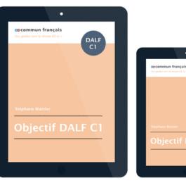 Compréhension orale DALF C1 - une proposition de référentiel