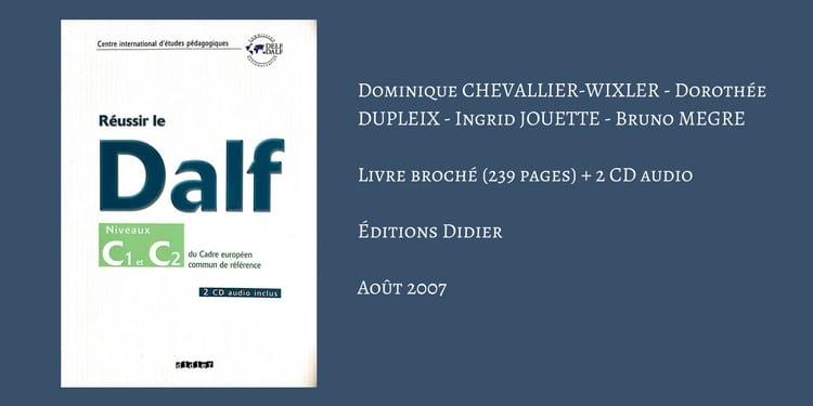 DALF C1 Archives - commun français